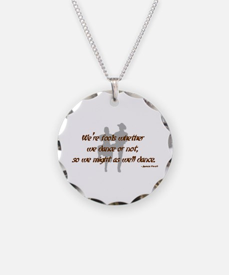 Country Dance Fools Necklace