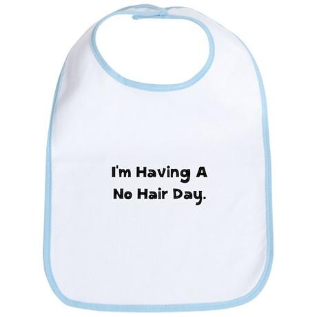 No Hair Day Bib