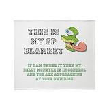 Gastroparesis Fleece Blankets