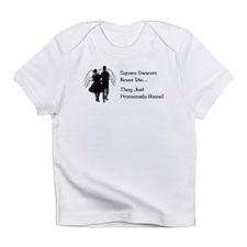 Square Dancers Never Die Infant T-Shirt