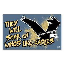 Soar on Wings like Eagles Decal