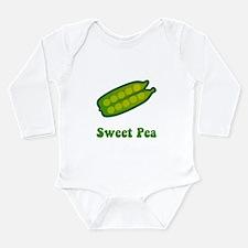 Sweet Pea Long Sleeve Infant Bodysuit
