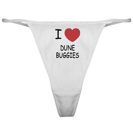 I heart dune buggies Classic Thong