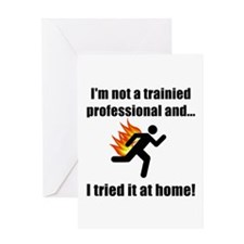 Trained Professional Greeting Card