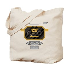 Super Bass Tote Bag
