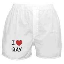 I heart ray Boxer Shorts