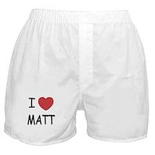 I heart Matt Boxer Shorts