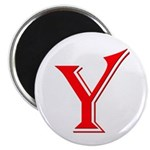"Y - Yes Means Yes 2.25"" Magnet (100 pack)"