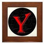 Only Yes Means Yes Y-Circle Framed Tile