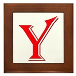 Y - Yes Means Yes Framed Tile