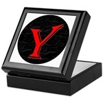 Only Yes Means Yes Y-Circle Keepsake Box