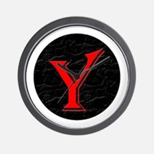Only Yes Means Yes Y-Circle Wall Clock