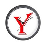 Y - Yes Means Yes Wall Clock
