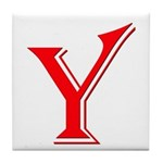 Y - Only Yes Means Yes Tile Coaster