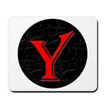 Only Yes Means Yes Y-Circle Mousepad