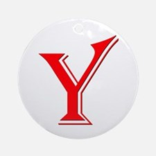Y- Yes Means yes Ornament (Round)