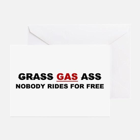 "GRASS ""GAS"" ASS Greeting Cards (Pk of 10)"