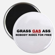 "GRASS ""GAS"" ASS Magnet"