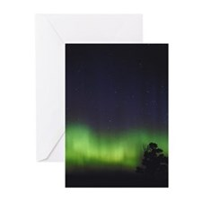 Northern Lights 2 Greeting Cards (Pk of 10)
