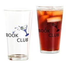 Book Club Drinking Glass