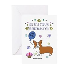 Corgi Greeting Card