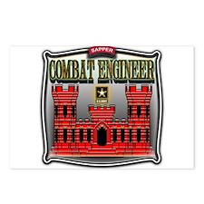 Army Sapper Badge Combat Engineer Postcards (Packa