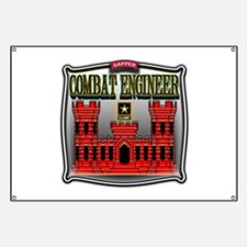 Army Sapper Badge Combat Engineer Banner