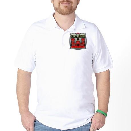 Army Sapper Badge Combat Engineer Golf Shirt