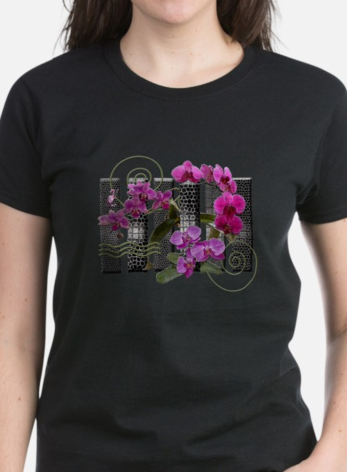 """""""Bars & Orchids"""" Tee"""
