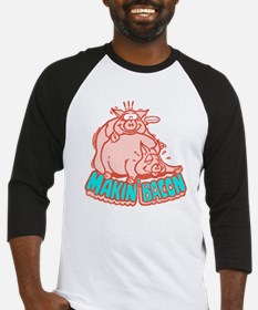Makin Bacon Pigs Baseball Jersey