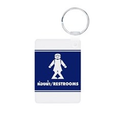 Funny Thai Toilet Sign Keychains