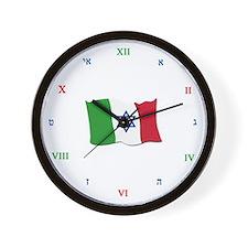 You're on Jewtalian Time Wall Clock