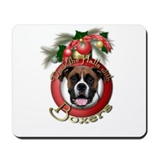 Christmas - Deck the Halls - Boxers Mousepad