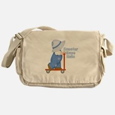Little Scooter Boy Messenger Bag