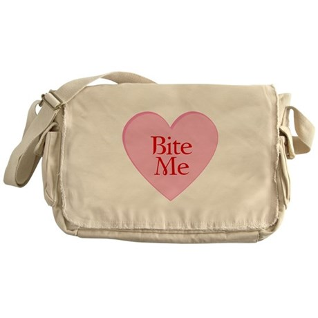 Twilight Movie Valentine Messenger Bag
