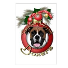 Christmas - Deck the Halls - Boxers Postcards (Pac