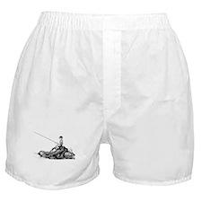 Funny Fish art Boxer Shorts