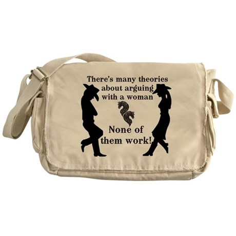 Argue With Women Messenger Bag