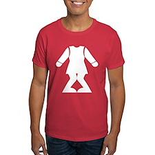 Funny Headless Toilet Sign T-Shirt