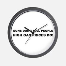 High Gas Prices Wall Clock