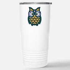 Retro Owl Travel Mug