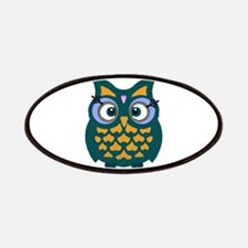 Retro Owl Patches
