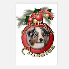 Christmas - Deck the Halls - Aussies Postcards (Pa