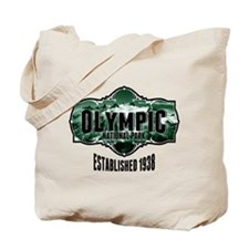Olympic Forest Green Tote Bag