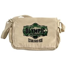 Olympic Forest Green Messenger Bag