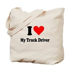 I Heart My Truck Driver Tote Bag
