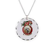 Christmas - Deck the Halls - Poodles Necklace