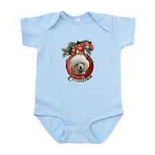Christmas - Deck the Halls - Poodles Infant Bodysu