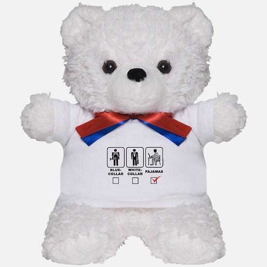 Blue-collar,white-collar or p Teddy Bear