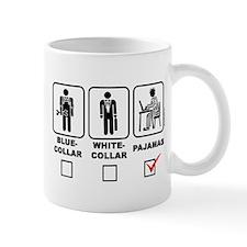 Blue-collar,white-collar or p Mug